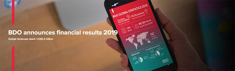 BDO Announces financial results 2019