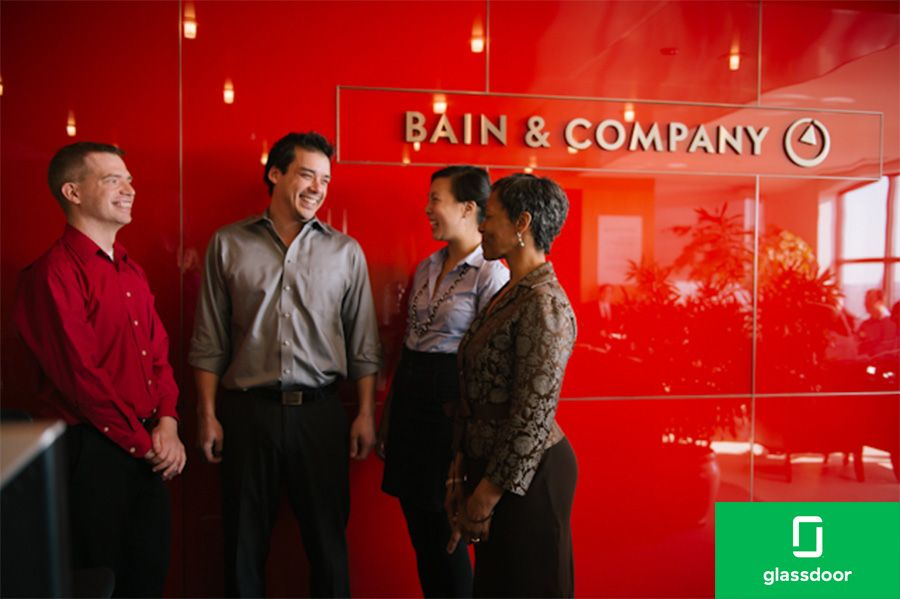 Another podium placing for Bain on Glassdoor best workplace list