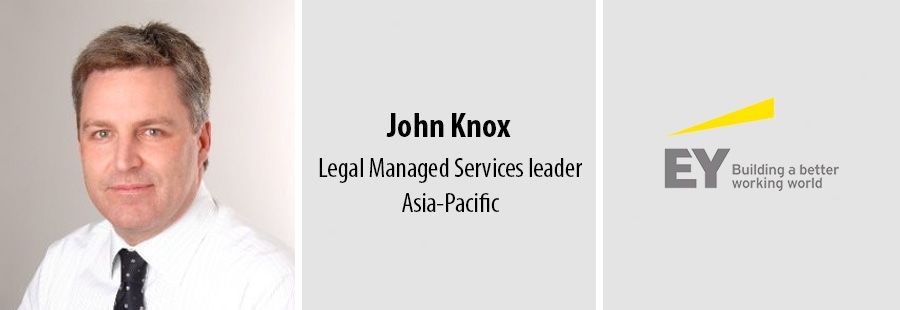 John Knox, EY, Legal Managed Services leader - Asia-Pacific