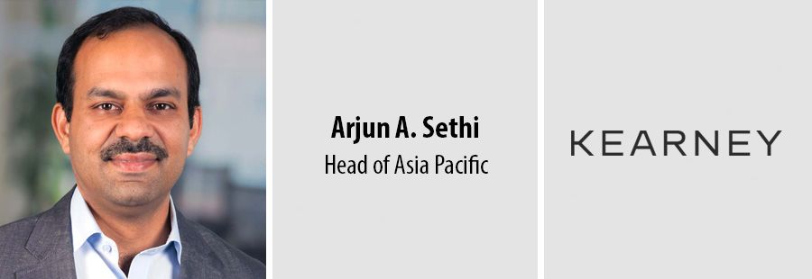 Arjun A. Sethi, Head of Asia Pacific at Kearney