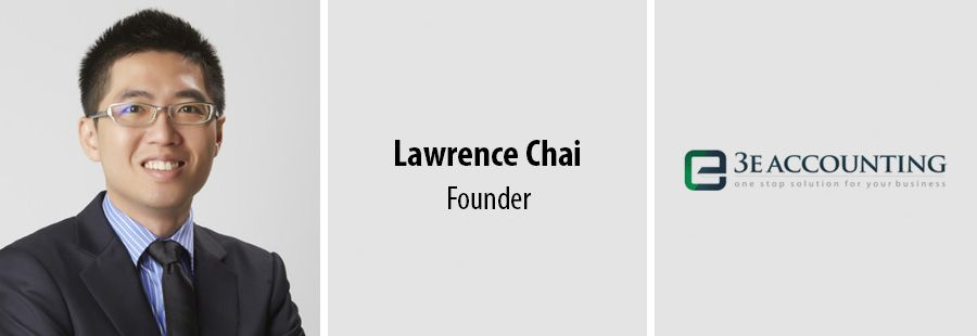 Lawrence Chai - Founder - 3E Accounting International