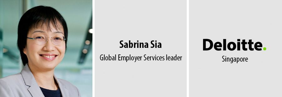 Sabrina Sia - Global Employer Services leader - Deloitte Singapore