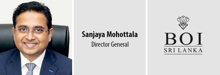 Sanjaya Mohottala - Director General - Board of Investment of Sri Lanka