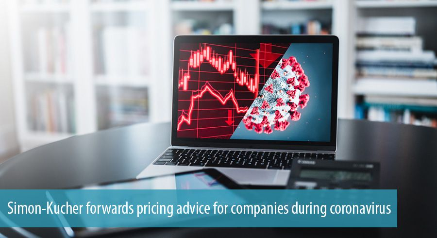 Simon-Kucher forwards pricing advice for companies during coronavirus