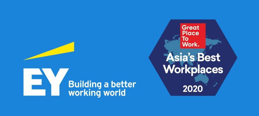 EY named on Great Place to Work list as a top employer in Asia