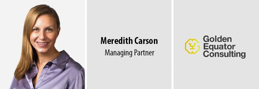 New managing partner Meredith Carson talks about Golden Equator Consulting