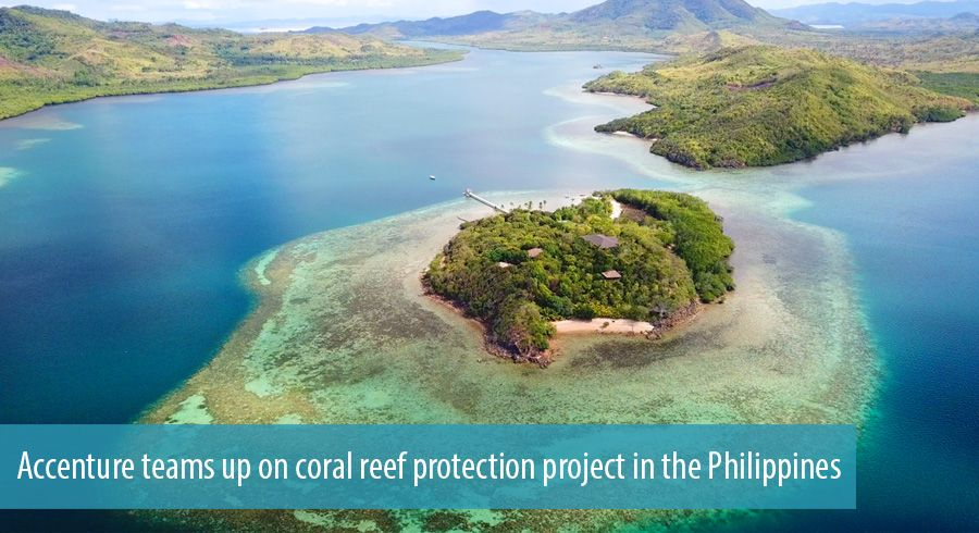 Accenture teams up on coral reef protection project in the Philippines