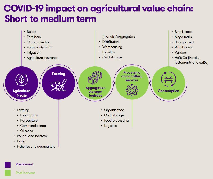 Agricultural value chain in India