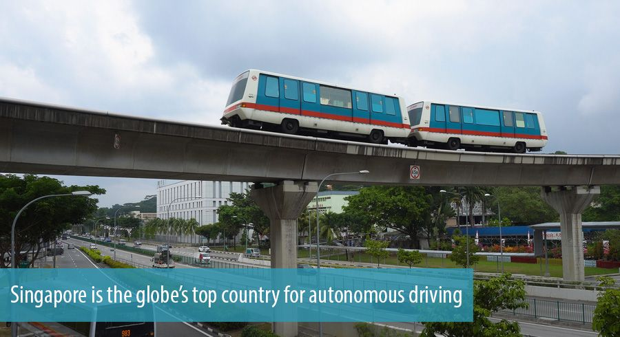 Singapore is the globe's top country for autonomous driving