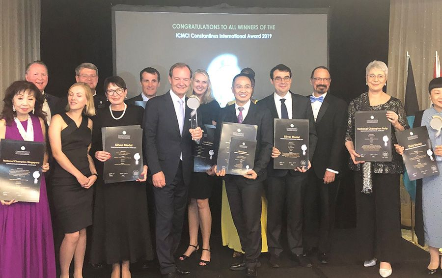 China takes gold and silver at annual consulting project awards