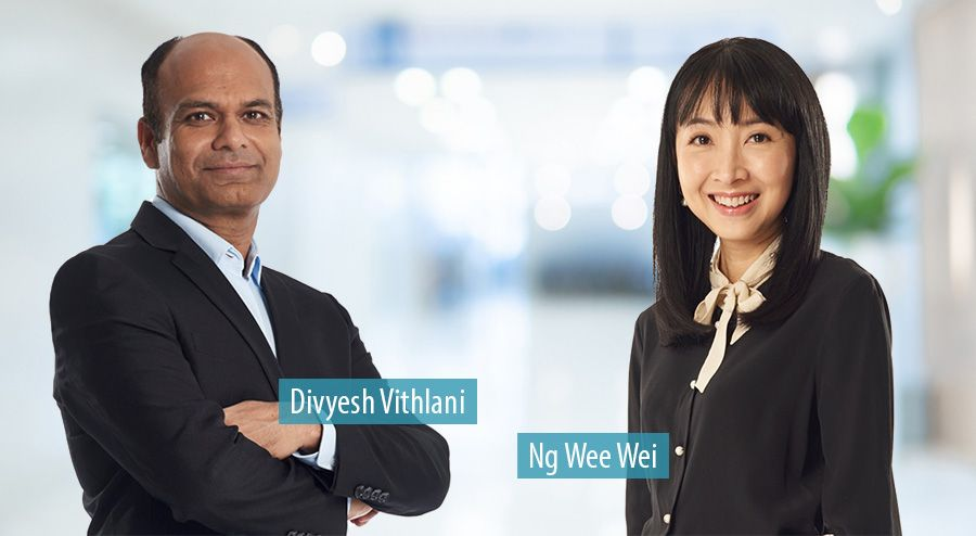 Divyesh Vithlani and Ng Wee Wei, Accenture