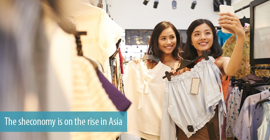 The sheconomy is on the rise in Asia