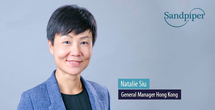 Natalie Siu, General Manager Hong Kong, Sandpiper Communications