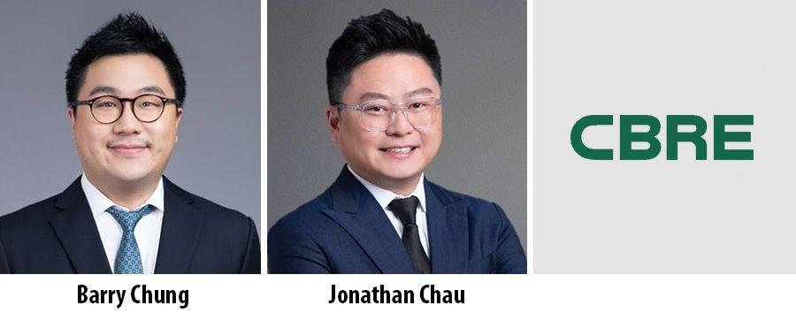 Barry Chung, Jonathan Chau, CBRE