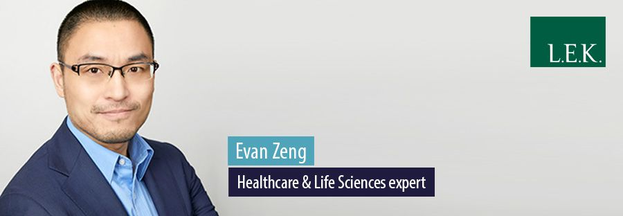 Evan Zeng, Healthcare & Life Sciences expert, L.E.K. Consulting