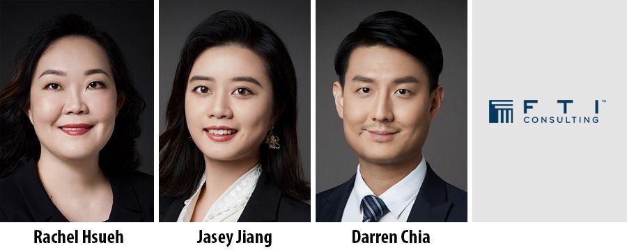 Rachel Hsueh, Jasey Jiang, Darren Chia - FTI Consulting