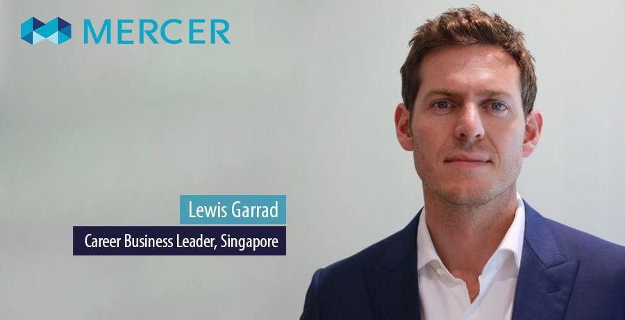 Lewis Garrad leads Mercer's Career business in Singapore