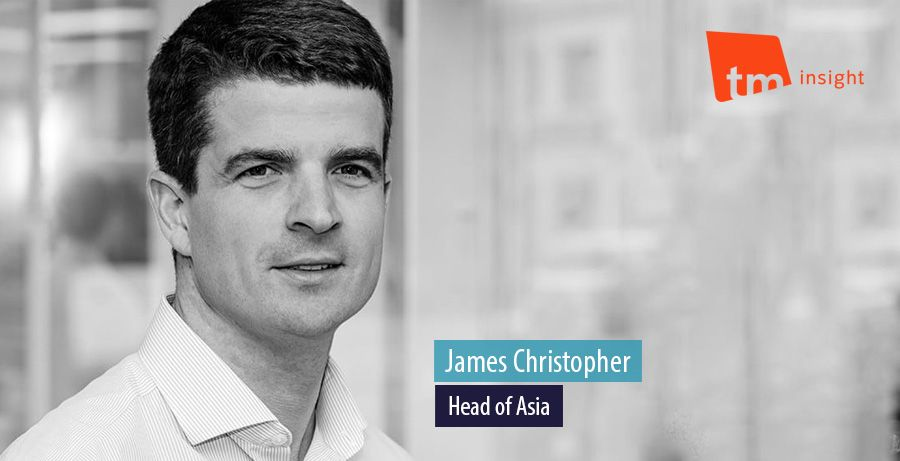 James Christopher, Head of Asia, TM Insight