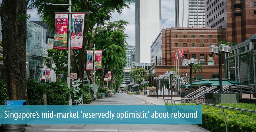 Singapore's mid-market 'reservedly optimistic' about rebound