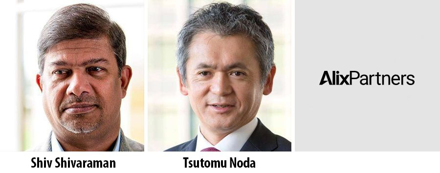 Shiv Shivaraman and Tom Noda lead AlixPartners in Asia
