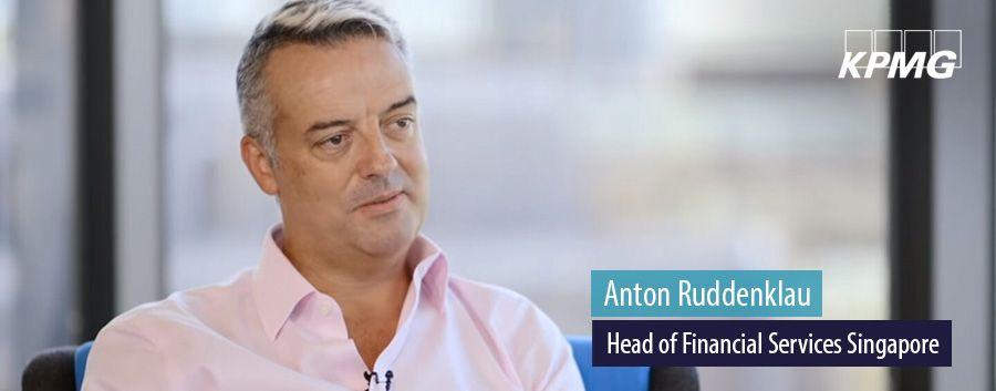 Anton Ruddenklau, Head of Financial Services Singapore, KPMG