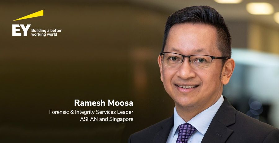 Ramesh Moosa, Forensic & Integrity Services Leader, ASEAN and Singapore, EY