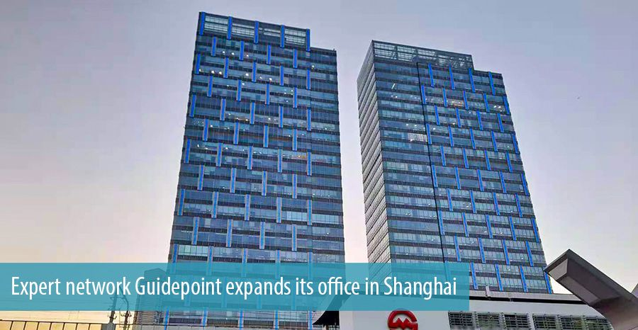 Expert network Guidepoint expands its office in Shanghai