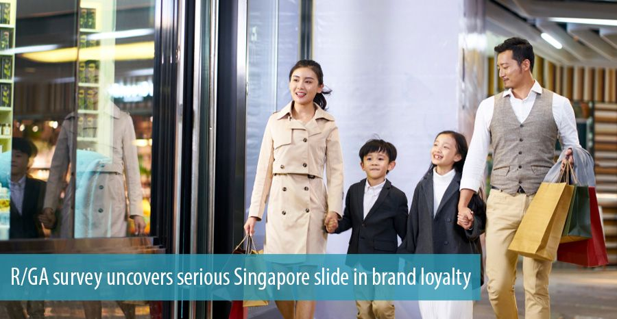 R/GA survey uncovers serious Singapore slide in brand loyalty