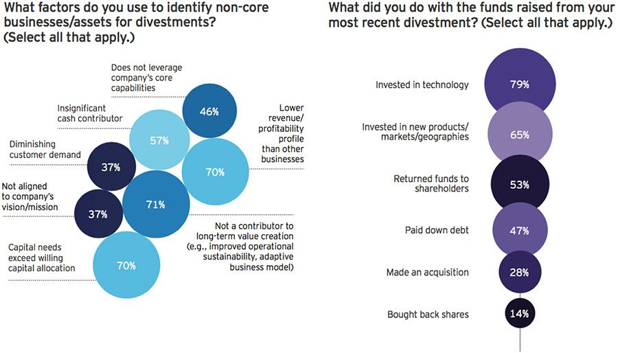 Top divestment strategies with global executives