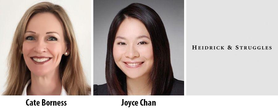 Cate Borness, Joyce Chan, Heidrick Consulting