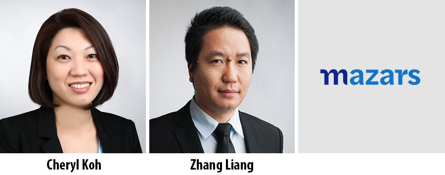 Cheryl Koh and Zhang Liang, Mazars