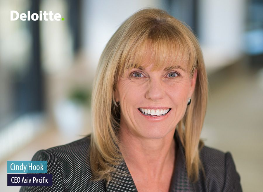 Cindy Hook, Giám đốc điều hành Châu Á Thái Bình Dương, Deloitte