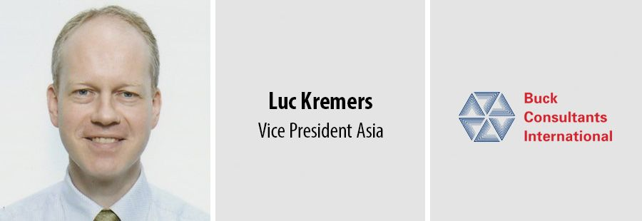 Luc Kremers leads Buck Consultants International in Asia