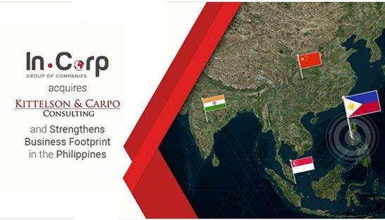 Singapore's In.Corp acquires Philippines-based consultancy Kittelson & Carpo