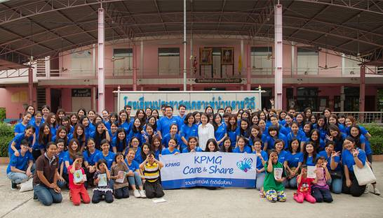 KPMG sets CSR example in Thailand with Care & Share day