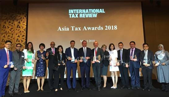 Big Four firms KPMG, Deloitte and EY dominate Asia Tax Awards for 2018