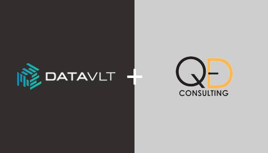 Data platform DATAVLT partners strategy consultancy QED in Singapore