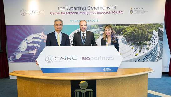 Sia Partners joins university AI research centre in Hong Kong as partner