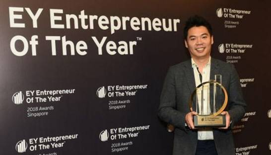 PatSnap CEO Jeffrey Tiong named EY Entrepreneur Of The Year for Singapore