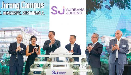 Surbana Jurong unveils new HQ in Singapore with space for 4,000 staff
