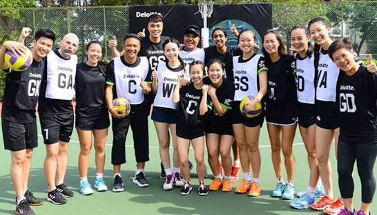 Deloitte and Netball Singapore charity match to help fund school