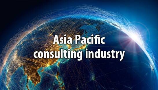 Asia Pacific accounts for one sixth of global consulting industry