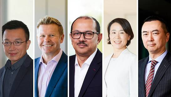 EY appoints five leaders to Asia Pacific executive team