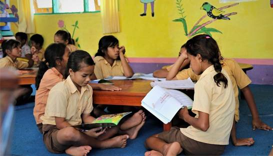 Palladium implementing program for better education in Indonesia