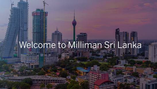Milliman launches in Sri Lanka with acquisition of local consultancy
