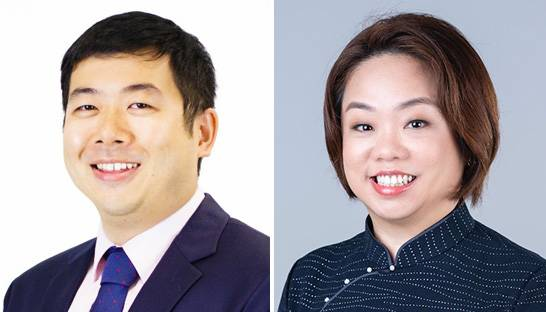 Adrian Sham and Emily Lai partner at Grant Thornton Singapore